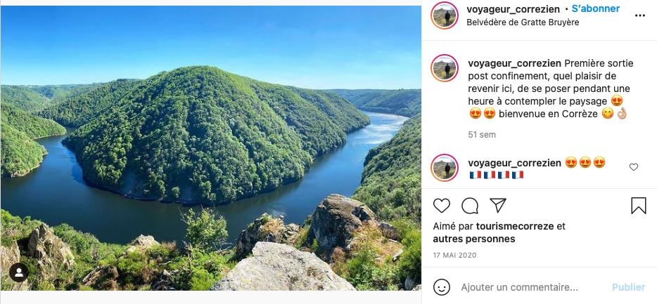 Belvédère de Gratte Bruyère Corrèze - Voyageur Corrézien