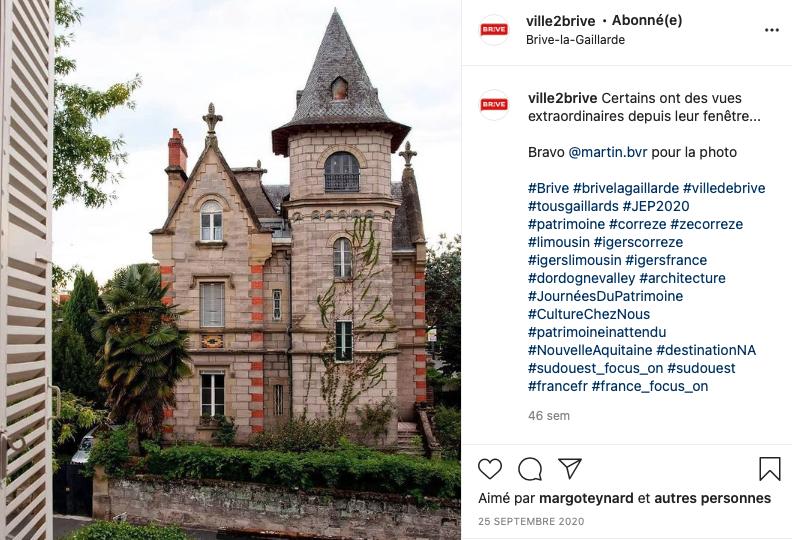 Belle maison Brive quartier Champanatier crédit photo @martin.bvr