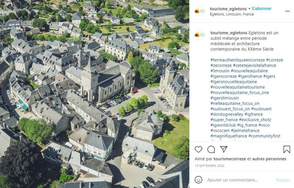 Egletons une petite ville agréable en Corrèze